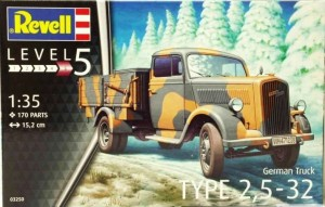 REVELL 03250 - 1/35 GERMAN TRUCK TYPE 2,5