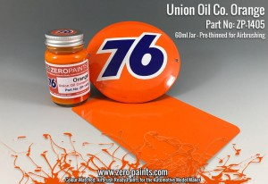 ZERO PAINTS 1405 - Union Oil Co 76 Orange 60ml