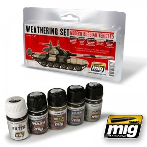 AMMO MIG 7147 MODERN RUSSIAN VEHICLES WEATHERING