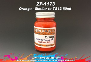 ZP1173 - Farba Orange Similar to TS12 - 60ml