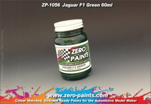 ZERO PAINTS 1056 Farba Jaguar Racing F1 Green 60ml