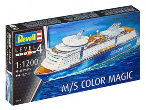 REVELL 05818 - 1/1200 M/S COLOR MAGIC