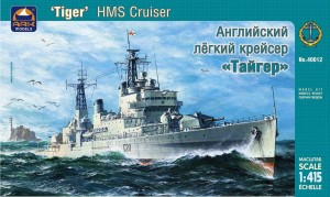 "ARK 40012 - 1/415 HMS ""Tiger"" British light cruise"