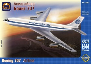 ARK 14401 - 1/144 Boeing 707-321 American medium