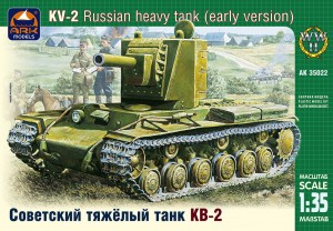ARK 35022 - 1/35 KV-2 Russian heavy tank early ver
