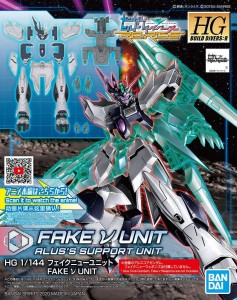 Bandai 60246 HGBD:R 1/144 FAKE Nu UNIT GUN60246