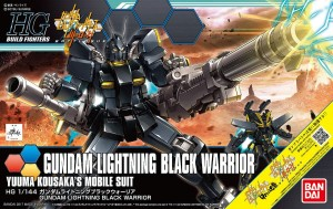 Bandai 12867 HG 1/144 Gundam Lightning Black Warri
