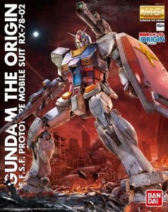 Bandai 13143 MG 1/100 RX-78-02 GUNDAM (THE ORIGIN)