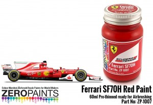 ZERO PAINTS 1007 - Ferrari Scuderia SF70H Red 60ml