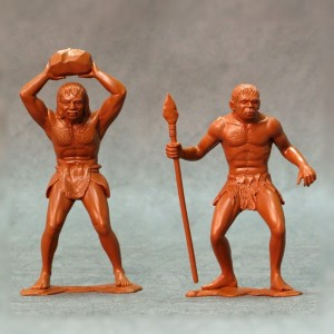 ARK 80012 - Cavemen set #3 2 figurki 15cm