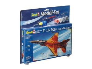REVELL 63980 - 1/72 F-16 MLU SOLO DISPLAY