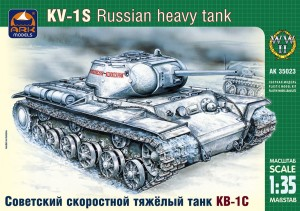 ARK 35023 - 1/35 KV-1S Russian high-speed heavy