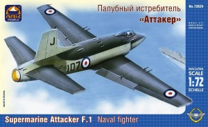 "ARK 72029 - 1/72 Supermarine ""Attacker"" F.Mk.1 Br"