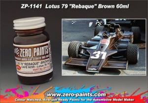 ZERO PAINTS 1141 - Lotus 79 Rebaque Brown 60ml