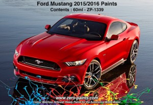 ZERO PAINTS 1339 - 2015 Ford Mustang RACE RED 60ml