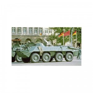 ACE 72166 BTR-70 (late) APC - rubber tyres