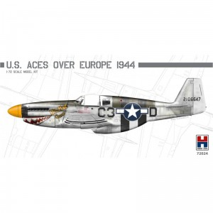 Hobby 2000 72024 P-51B Mustang US Aces over Europe