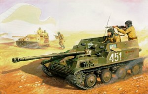 EE 35005 - 1/35 ASU-57 Russian assault airborne