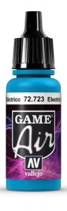 VALLEJO 72723 FARBA GAME AIR - ELECTRIC BLUE 17ml