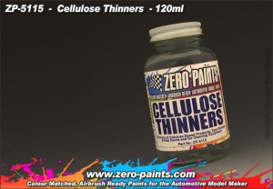 ZERO PAINTS 5115 - Cellulose Thinners 120ml