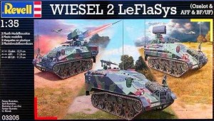 REVELL 03205 - 1/35 WIESEL 2 LEFLASYS Ozelot & AFF