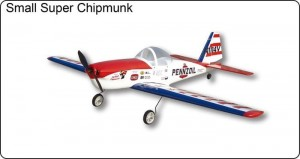 Small Chipmunk Electric - Samolot FlyFly Hobby