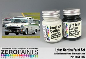 ZERO PAINTS 1383 - Lotus Cortina Paint Set 2x30ml