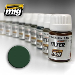 AMMO MIG 1508 FILTR GREEN FOR GREY GREEN