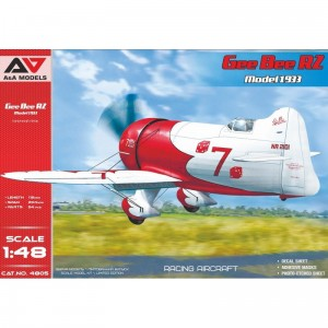 A&A Models 4805 1/48 Gee Bee R2 Model 1933