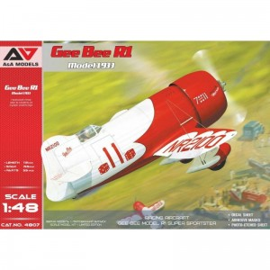 A&A Models 4807 1/48 Gee Bee R1 Model 1933