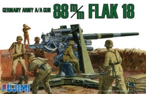 Fujimi 761206 1/76 WA-26 German 88mm Gun