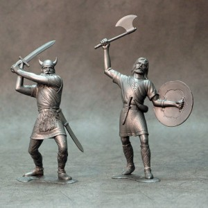 ARK 80009 - Barbarians set #3 2 figurki 15cm