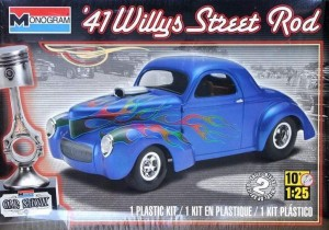 MONOGRAM 4909 - 1/25 WILLYS STREET ROD