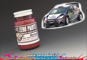 ZP1245 Marron Paint for Qatar Ford Fiesta WRC 60ml