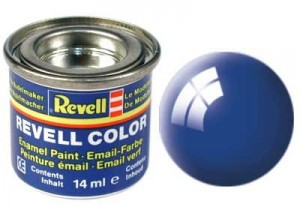 REVELL 32152 - FARBA EMAIL 52 Blue Gloss