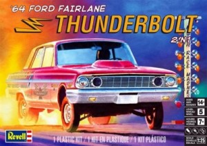 MONOGRAM 4408 1/25 1964 Ford Fairlane Thunderbolt