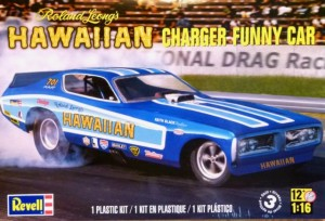 MONOGRAM 4082 - 1/16 Hawaiian Charger Funny Car