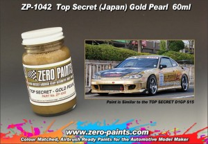 ZERO PAINTS 1042 Farba Top Secret Gold Pearl 60ml