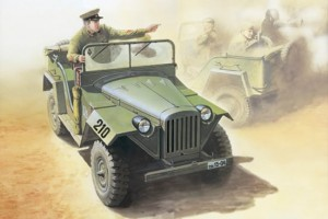EE 35009 - 1/35 GAZ-67B Russian field car