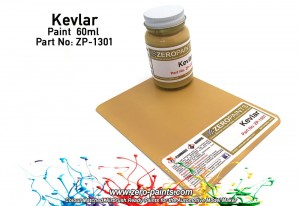 ZERO PAINTS 1301 - Farba Kevlar Coloured 60ml