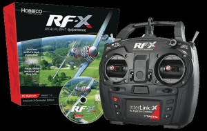 Symulator Realflight RF-X z koltrolerem InterLink-X