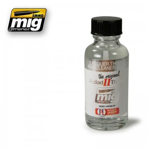 AMMO MIG 8200 LACQUER THINNER AND CLEANER ALC307