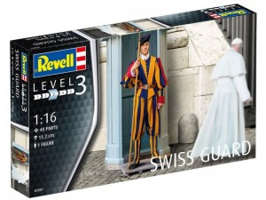 REVELL 02801 - 1/16 FIGURKA SWISS GUARD