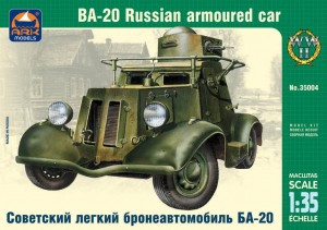 ARK 35004 - 1/35 BA-20 Russian light armored car