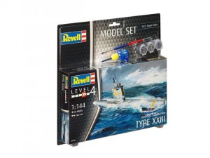 REVELL 65140 - 1/144 GERMAN SUBMARINE Type XXIII