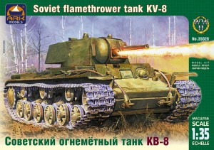 ARK 35028 - 1/35 KV-8 Russian heavy flamethrower