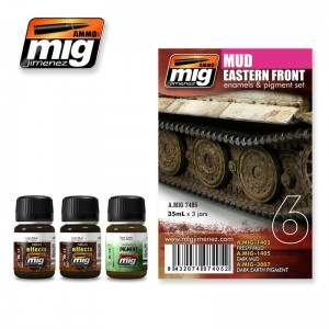 AMMO MIG 7405 ZESTAW FARB EASTER FRONT MUD