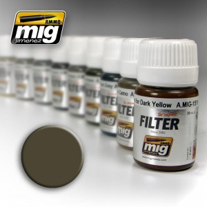 AMMO MIG 1502 FILTR DARK GREY FOR WHITE