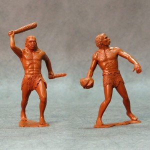 ARK 80011 - Cavemen set #2 2 figurki 15cm