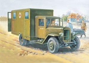 EE 35152 - 1/35 ZiS-44 Russian military ambulance